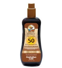 AUSTRALIAN GOLD SPRAY GEL SUNSCREEN SPF50 237ML