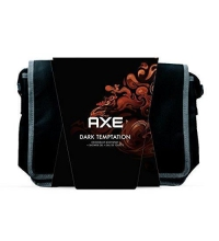 AXE DARK TEMPTATION EDT 100 ML + DEO 150 ML + GEL DUCHA 250 ML + NECESER SET REGALO