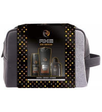 AXE DARK TEMPTATION DEO 150ML+GEL 250ML + AFTER SHAVE 100ML + NECESER SET REGALO
