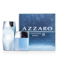 AZZARO CHROME SPORT COFFRET EDT 50 ML +SHOWER GEL 200ML