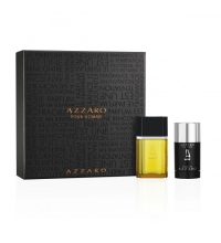 AZZARO POUR HOMME EDT 50 ML + DEO STICK 75 ML SET REGALO