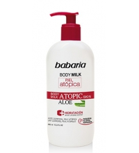 BABARIA BODY MILK PIEL ATOPICA ALOE VERA 400ML