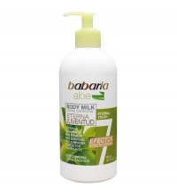 BABARIA BODY MILK 7 EFECTOS ALOE VERA 400ML