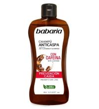 BABARIA CHAMPÚ ANTICASPA CON CAFEÍNA 400 ML