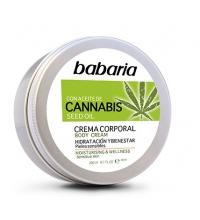 BABARIA CREMA CORPORAL CON ACEITE DE SEMILLAS DE CANNABIS 200ML