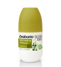 BABARIA DESODORANTE ROLL-ON ACEITE DE OLIVA 50ML