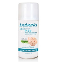 BABARIA DESODORANTE PIES SPRAY 150ML