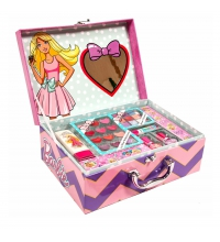 BARBIE BEAUTY TRAVELER SUITCASE SET REGALO