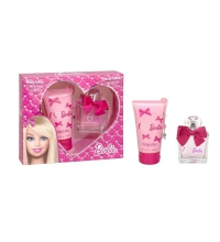 BARBIE EDT 75 ML + BODY LOTION 150 ML + CHARM SET REGALO