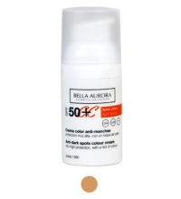 BELLA AURORA CREMA COLOR ANTIMANCHAS SPF 50+ 30 ML COLOR CLARO