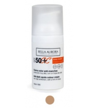 BELLA AURORA CREMA COLOR ANTIMANCHAS SPF 50+ 30 ML COLOR MEDIO