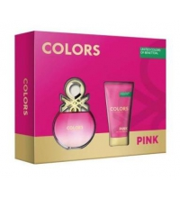 BENETTON PINK EDT 50 ML + B/LOC 50 ML SET REGALO