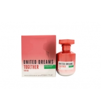 BENETTON UNITED DREAMS TOGETHER WOMAN EDT 80 ML