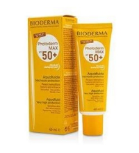 BIODERMA PHOTODERM MAX AQUAFLUIDE SPF 50+  NON TEINTÉ- NEUTRO 40 ML