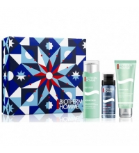 BIOTHERM HOMME AQUAPOWER 75 ML + GEL 75 ML +ESPUMA AFEITADO 50 ML SET REGALO