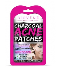 BIOVENE CHARCOAL ACNE PATCHES (24 UNIDADES)
