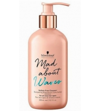 SCHWARZKOPF MAD ABOUT WAVES CHAMPU SIN SULFATOS 300ML
