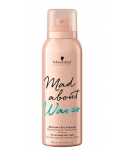 SCHWARZKOPF MAD ABOUT WAVES CHAMPU EN SECO 150ML