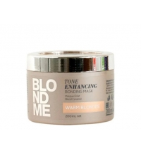 BONACURE ME ENCHANCING COOL BLONDES MASCARILLA CABELLOS RUBIOS CALIDOS 200ML