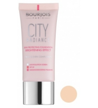 BOURJOIS CITY RADIANCE MAQUILLAJE PROTECTOR 001 ROSE IVORY 30ML