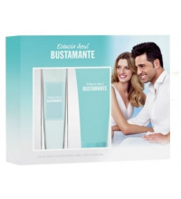 BUSTAMANTE ESENCIA AZUL WOMEN EDT 100 ML + B/LOC 75 ML SET REGALO