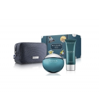 BVLGARI AQVA POUR HOMME MARINE EDT 100 ML + AFTER SHAVE BALM 100 ML + NECESER SET REGALO