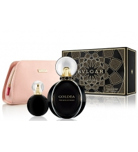 BVLGARI GOLDEA THE ROMAN NIGHT EDP 75 ML + MINI 15 ML + NECESER SET