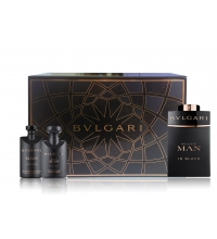 BVLGARI MAN IN BLACK EDP 60 ML + GEL 40 ML + A/S BALM 40 ML SET