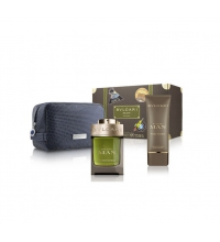 BVLGARI MAN WOOD ESSENCE EDP 100 ML + AFTER SHAVE BALM 100 ML + NECESER SET REGALO