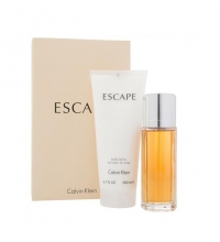 CALVIN KLEIN ESCAPE WOMAN EDP 100 ML + B/L 200 ML SET REGALO