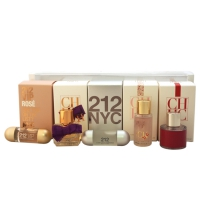 CAROLINA HERRERA WOMAN SET MINIATURAS X 5