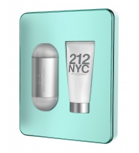 CAROLINA HERRERA 212 EDT 100 ML VP + B/LOC 100 ML SET REGALO