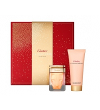 CARTIER LA PANTHERE EDP 50 ML + B/ LOTION 100 ML SET REGALO