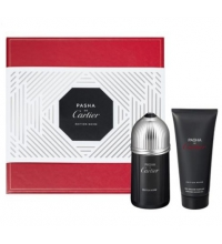 CARTIER PASHA NOIRE EDITION EDT 100 ML + SHOWER GEL 100 ML SET REGALO