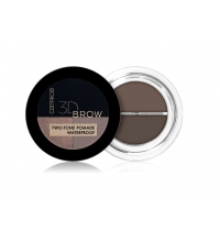 CATRICE 3D BROW TWO-TONE POMADA PARA CEJAS 2 EN 1 020 MEDIUM TO DARK 5 GR