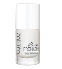 CATRICE ESMALTE DE UÑAS PURE FRENCH 01 SNOW WHITE AND THE FRENCHMAN 10ML
