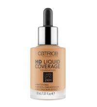 CATRICE BASE DE MAQUILLAJE HD LIQUID COVERAGE 065 BRONZE BEIGE 30 ML