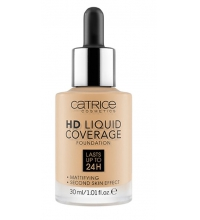CATRICE BASE DE MAQUILLAJE HD LIQUID COVERAGE 036 HAZELNUT BEIGE