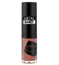 CATRICE LIP LIQUID POWDER METAL MATT 060 BREAKING NUDES