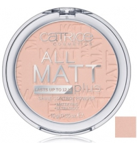 CATRICE POLVOS MATIFICANTES ALL MATT PLUS 015 NATURAL BEIGE 10G