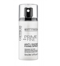 CATRICE SPRAY FIJADOR ANTIBRILLOS PRIME AND FINE 50 ML