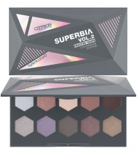 CATRICE SUPERBIA VOL.2 FROSTED TAUPE PALETA SOMBRAS 010 I CY FIRE
