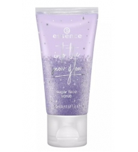 ESSENCE INTO THE SNOW GLOW SUGAR FACE SCRUB EXFOLIANTE ROSTRO 50ML