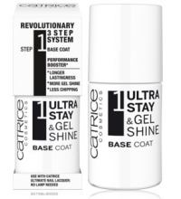 CATRICE ULTRA STAY & GEL SHINE BASE COAT