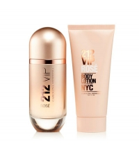 CAROLINA HERRERA 212 VIP ROSE EDP 80 ML + B/L 100 ML SET REGALO
