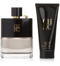 CAROLINA HERRERA CH MEN PRIVE EDT 100 ML + A/SHAVE 100 ML SET REGALO