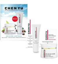 CHEN YU SET DELICIEUSE ROSSE BASE FLUIDA 50ML+MANUSSIA CREMA MANOS 75ML