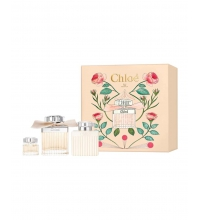 CHLOE EDP 75 ML+ MINI 5 ML + B/LOC 100 ML SET REGALO