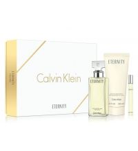 CALVIN KLEIN CK ETERNITY WOMAN EDP 100ML + B/LOC 100 ML + MINI EDP 10 ML SET