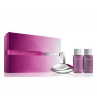 CK EUPHORIA WOMAN EDP 100 ML + B/L 100 ML + GEL 100 ML SET REGALO